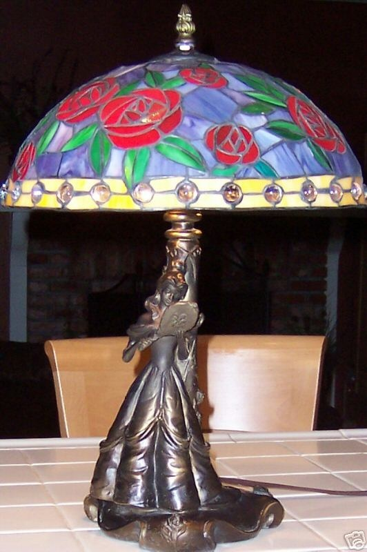 beauty and the beast lamp photo - 6
