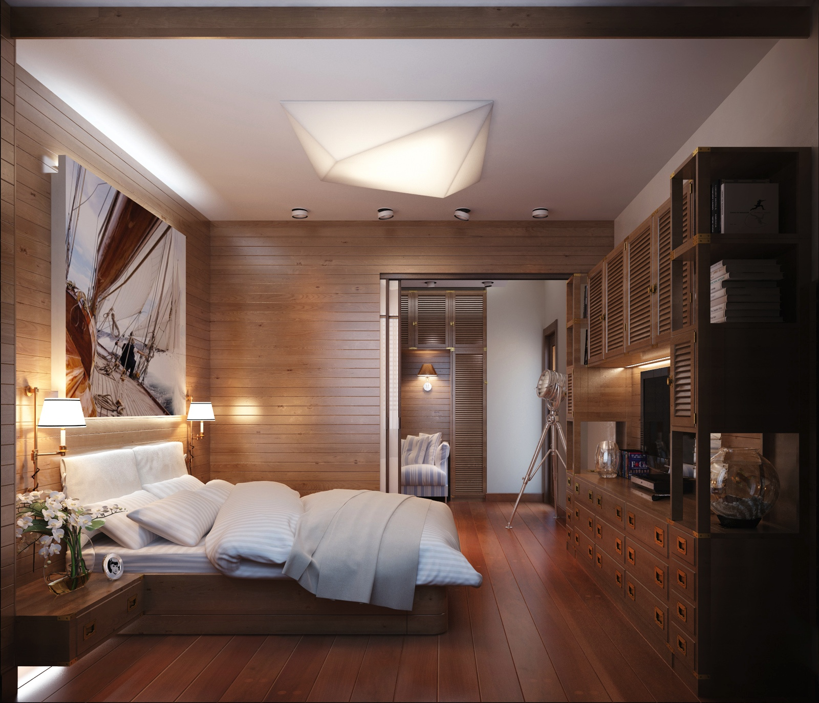 bed room lamps photo - 9