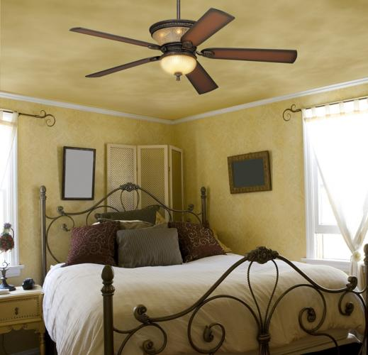 10 tips for choosing bedroom ceiling fans warisan lighting for Bedroom ceiling fans