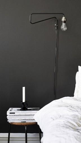 bedside lights wall mounted photo - 8
