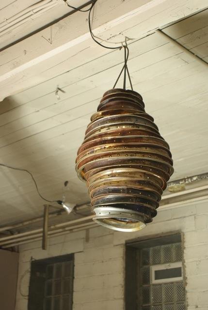 beehive lamp photo - 10