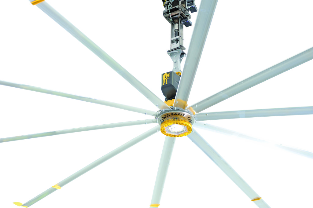 big industrial ceiling fans photo - 3