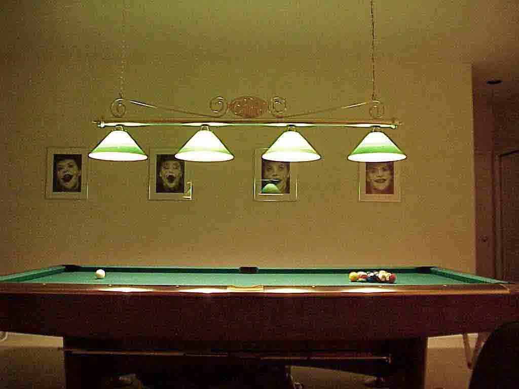 billiard lamps photo - 4