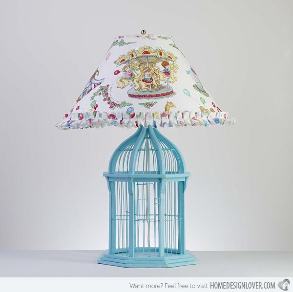 Bird Cage Table Lamp Warisan Lighting