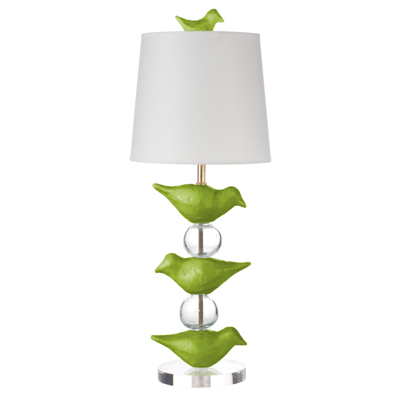bird table lamp photo - 1