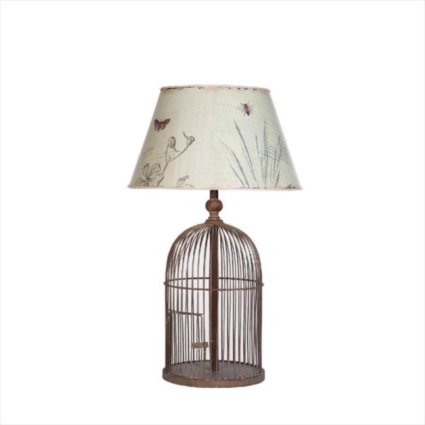 bird table lamp photo - 3