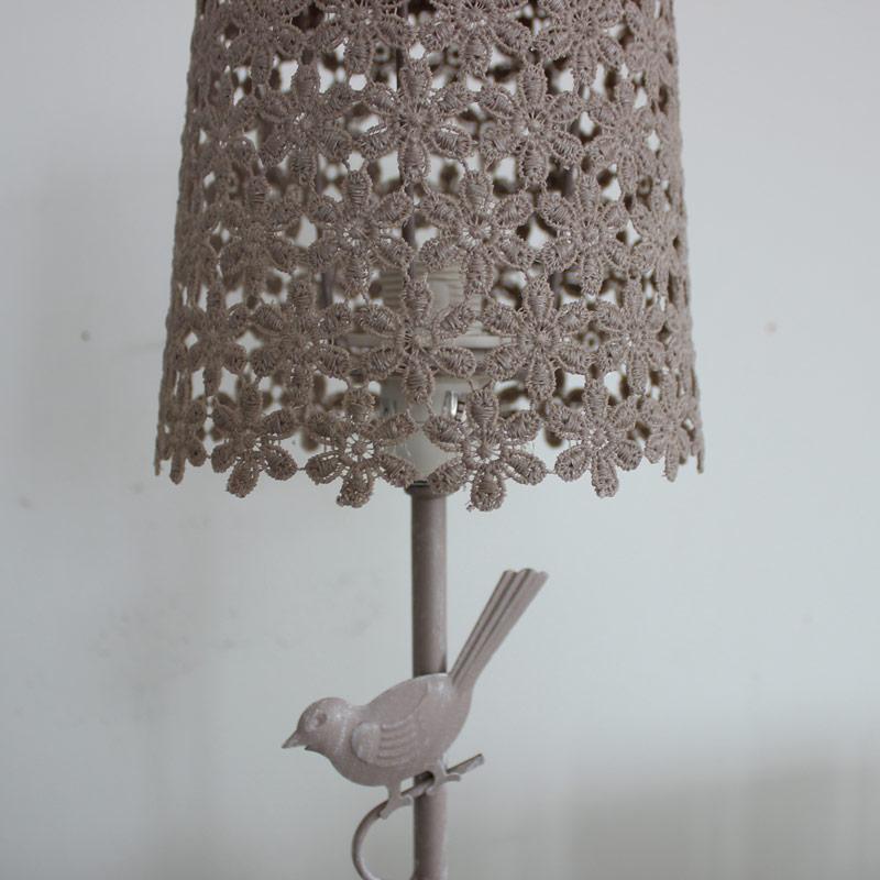 bird table lamp photo - 4