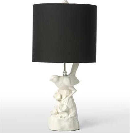 bird table lamp photo - 8