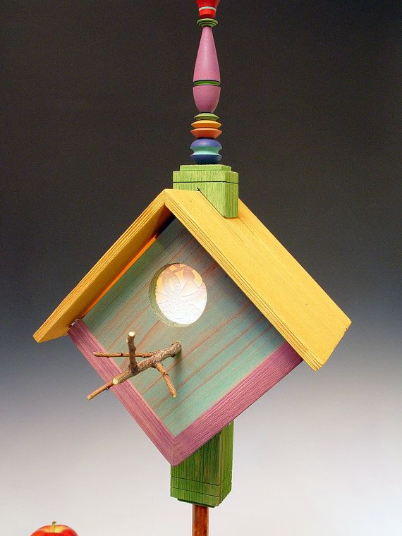 birdhouse lamp photo - 10