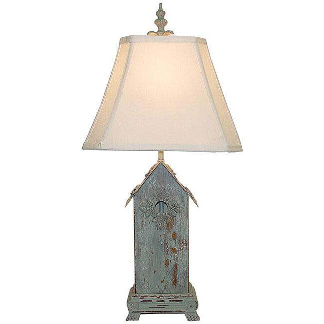 birdhouse lamp photo - 2