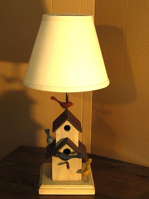 birdhouse lamp photo - 3