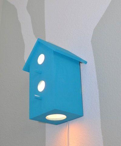 birdhouse lamp photo - 6