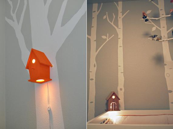birdhouse lamp photo - 8