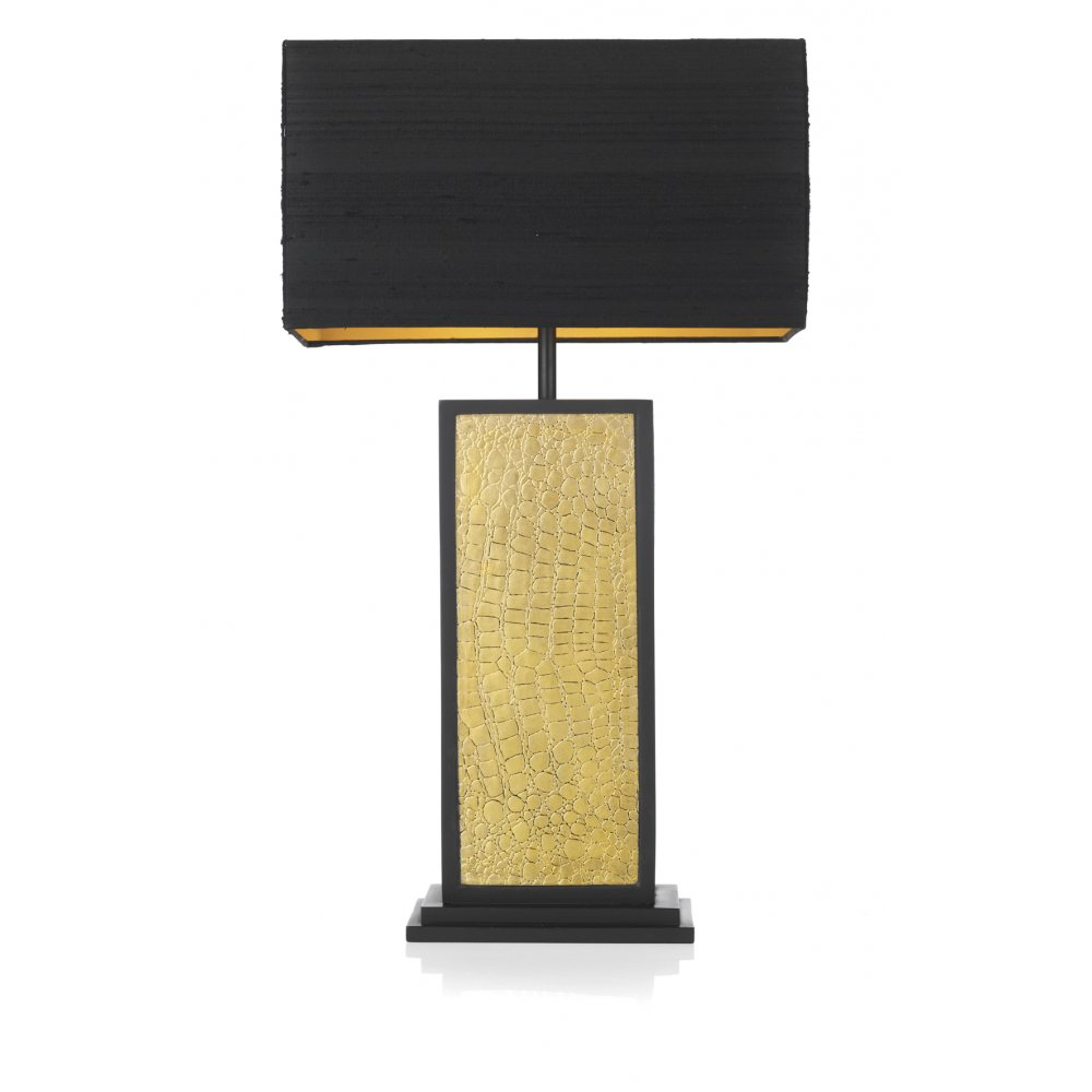 Black And Gold Table Lamp Photo   1