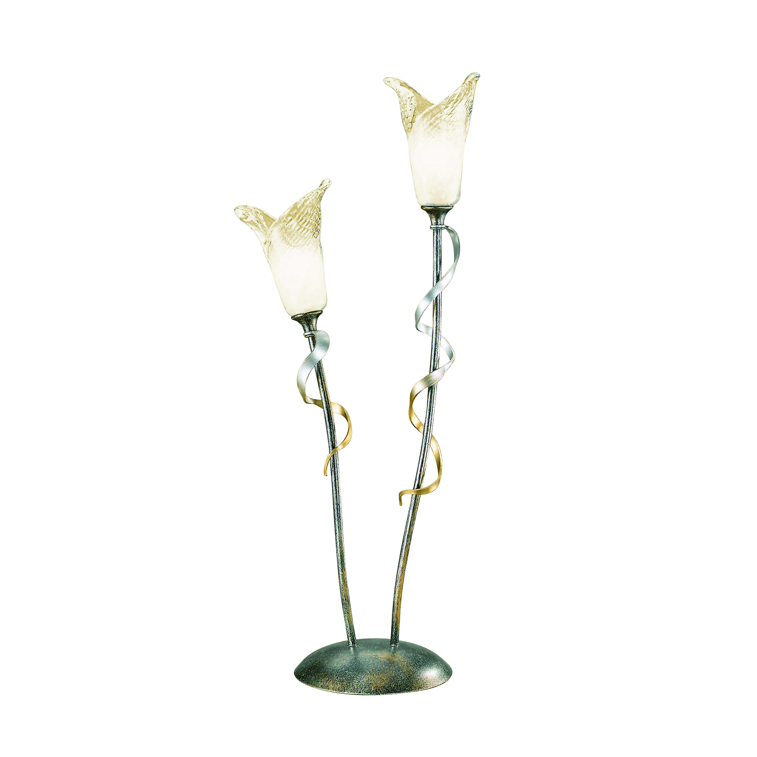 black and gold table lamp photo - 8