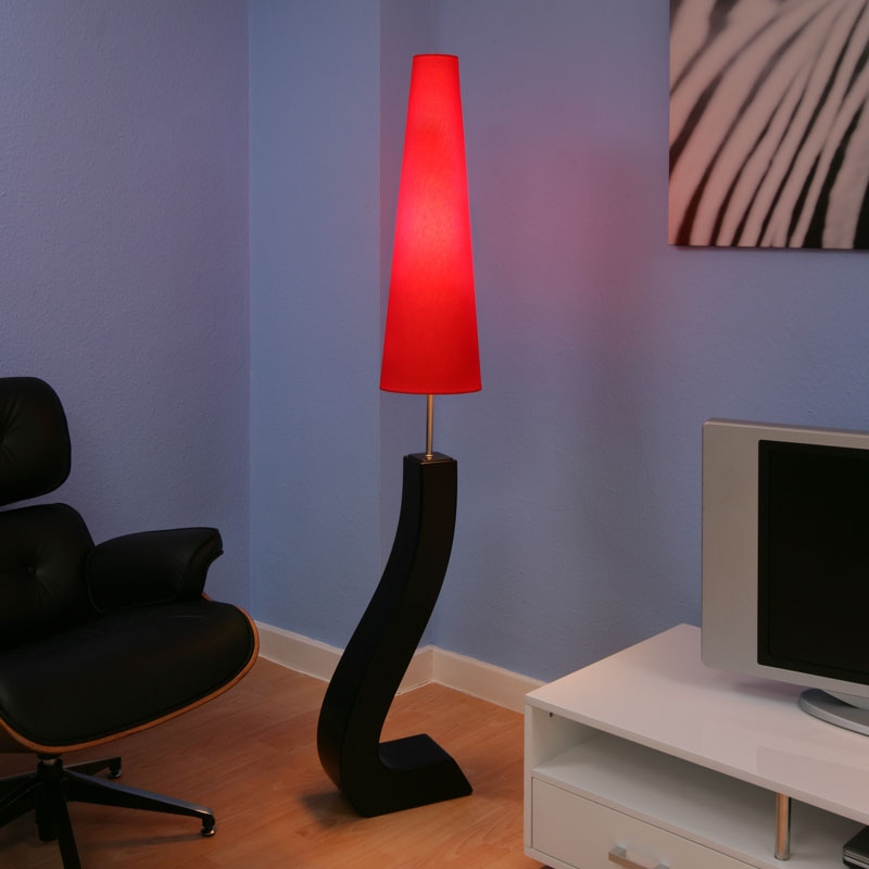 black and red lamps photo - 5