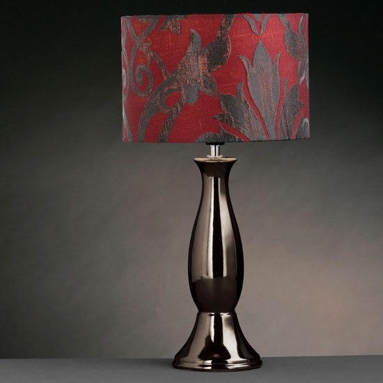 black and red lamps photo - 6