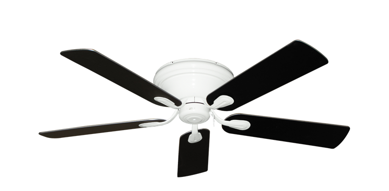Black And White Ceiling Fan: black and white ceiling fans photo - 10,Lighting