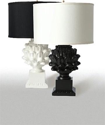 Black And White Table Lamp: black and white table lamps photo - 4,Lighting