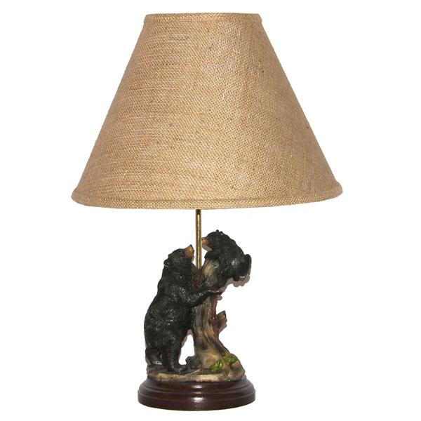 black bear lamps photo - 3