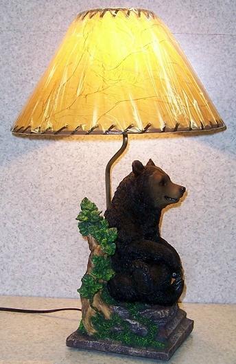 black bear lamps photo - 8