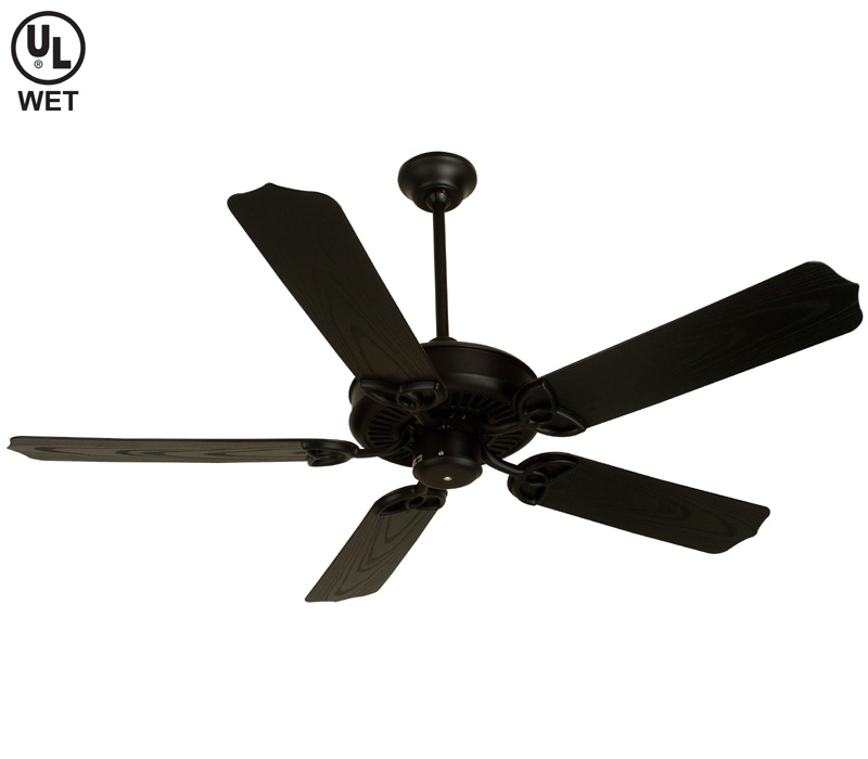 black ceiling fans photo - 1