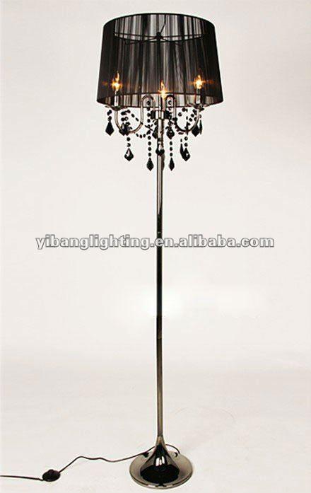 Black Chandelier Lamp: Black Chandelier Floor Lamp Warisan Lighting,Lighting