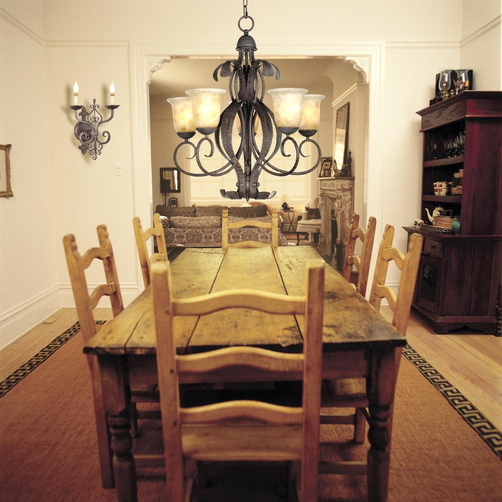 black chandelier table lamp photo - 2