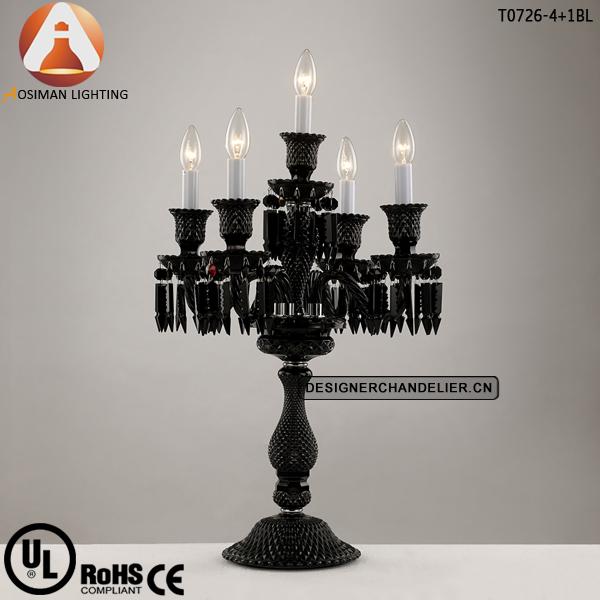 Black Chandelier Lamp: black chandelier table lamp photo - 4,Lighting