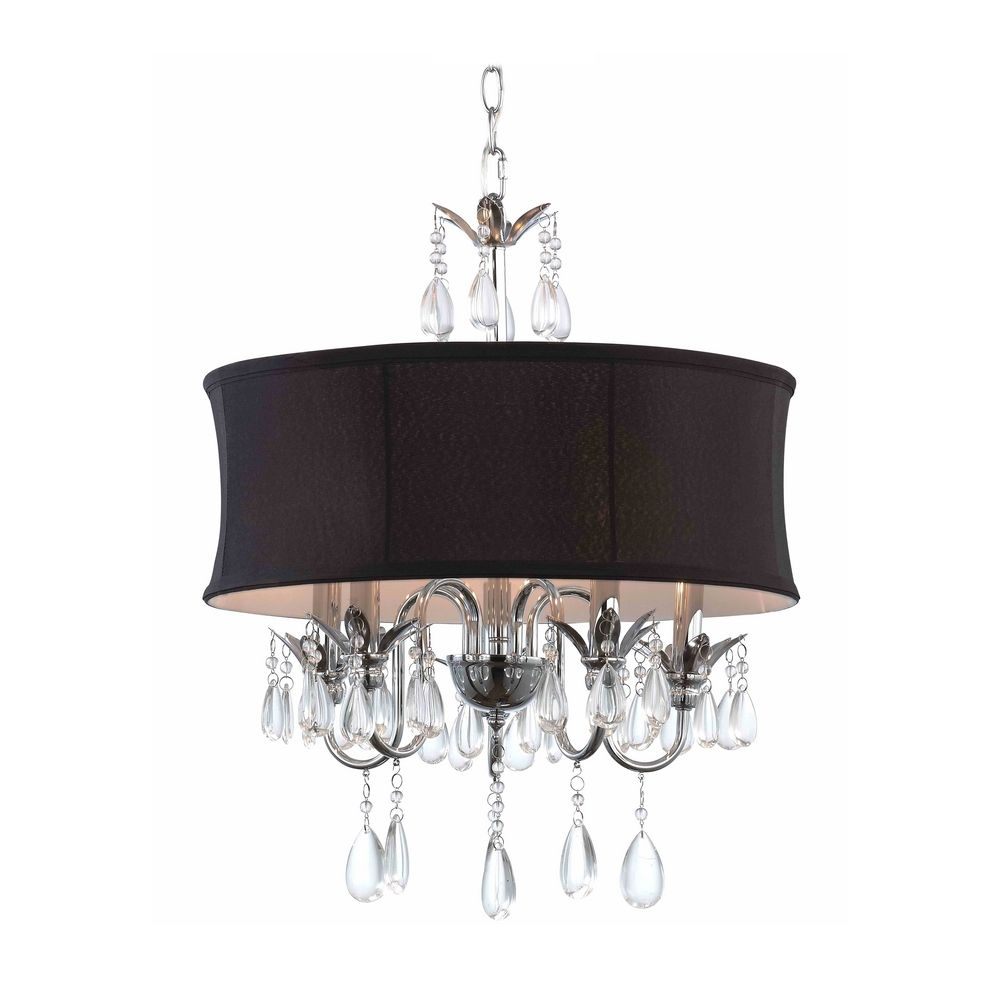 black chandelier wall lights photo - 1
