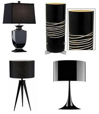 black lamps photo - 5