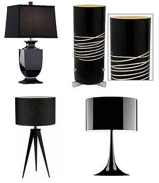 black lamps photo - 5