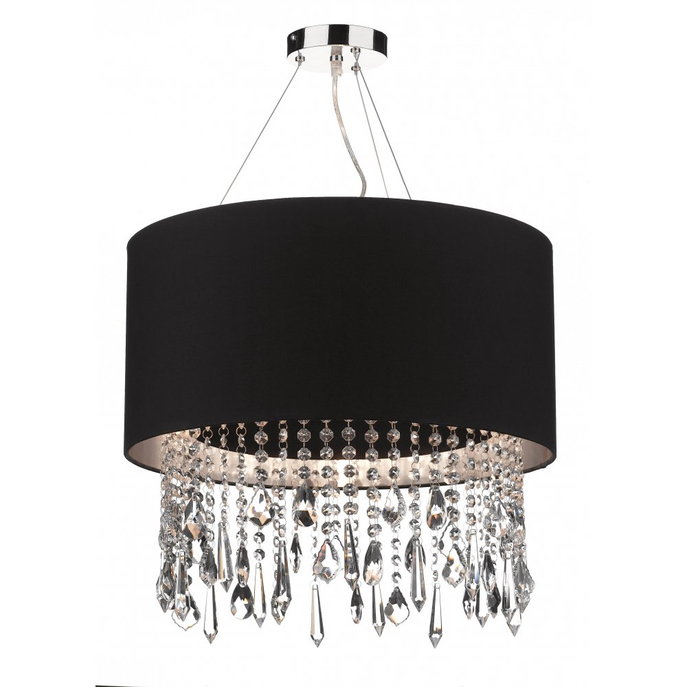 Silver lamp shades for table lamps - Black And Oak Kitchen Silver Table Lamp Shade Shades For