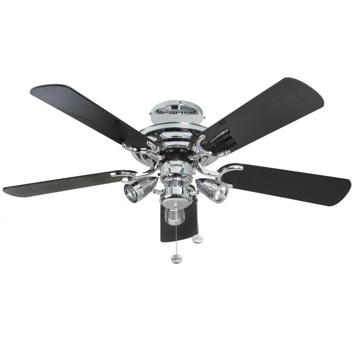 black light ceiling fan photo - 5