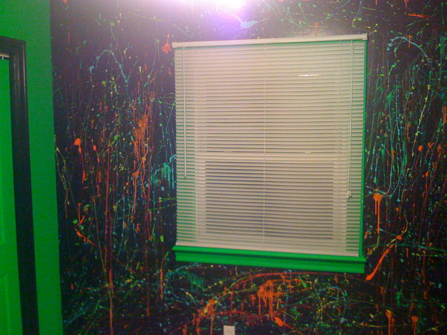 black light wall paint photo - 9
