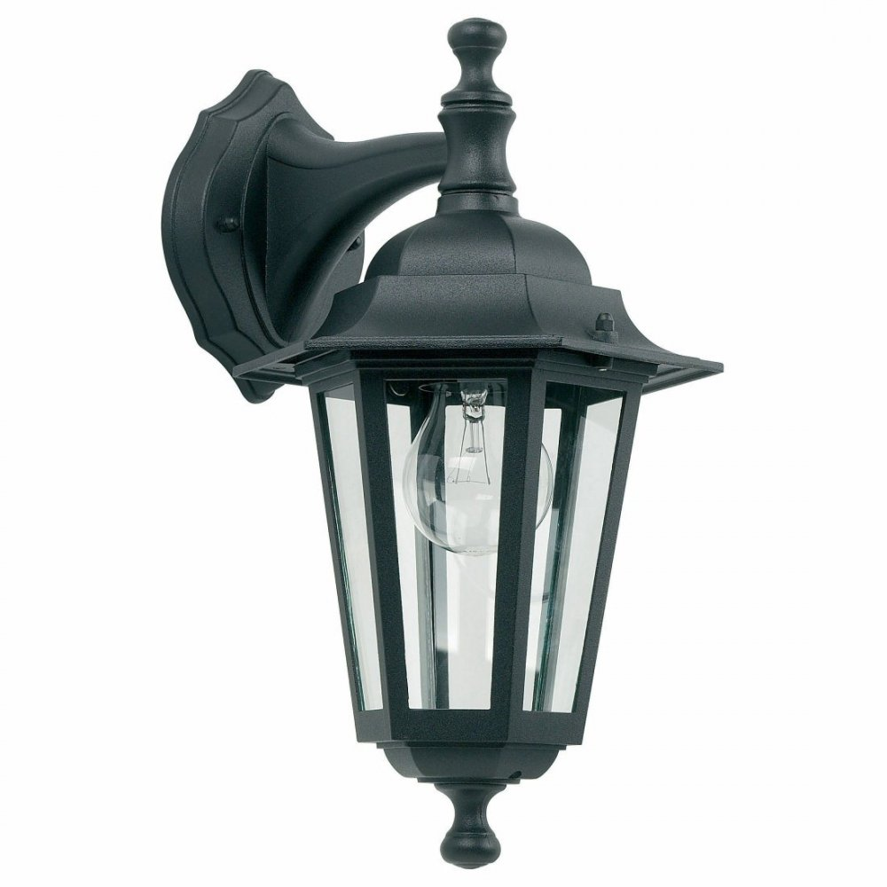 black outdoor wall lights photo - 4
