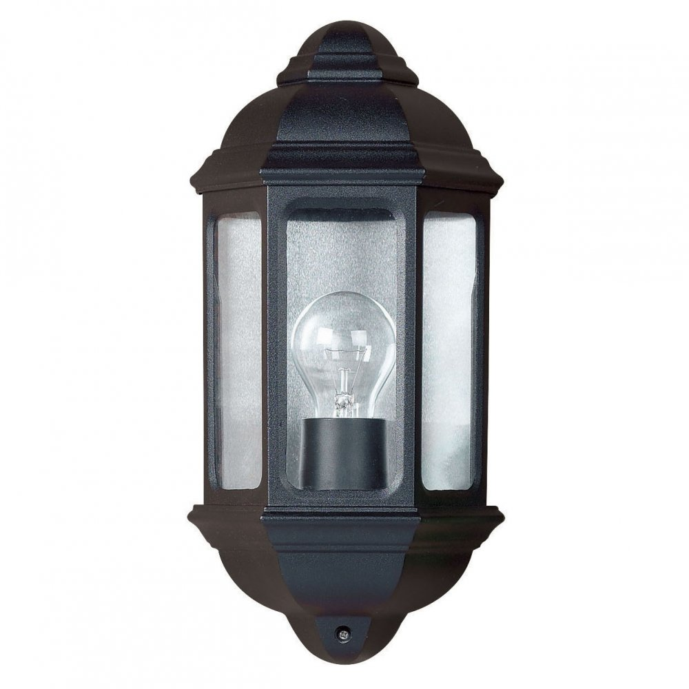 black outdoor wall lights photo - 6