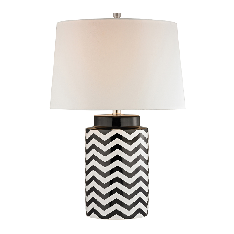 black table lamps photo - 2