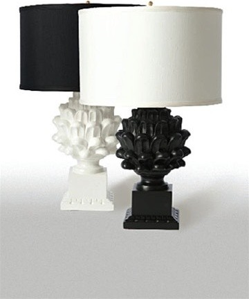 black table lamps photo - 5