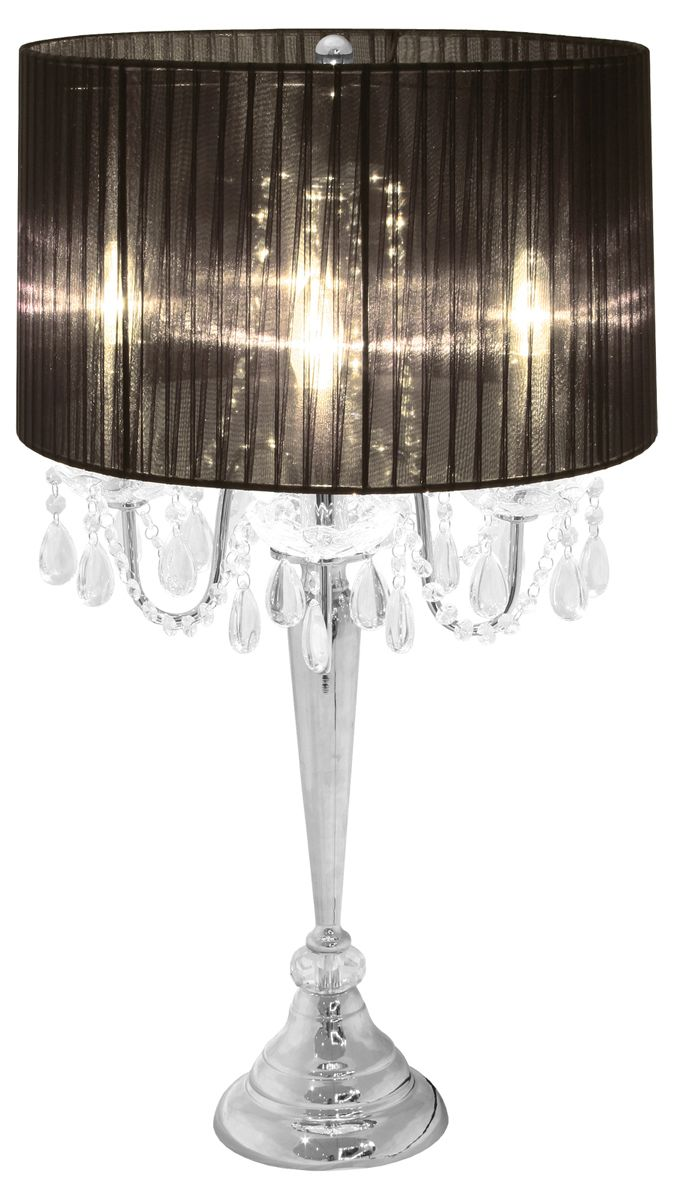 black table lamps photo - 7