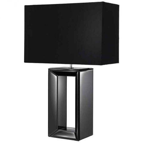 black tall lamp photo - 6
