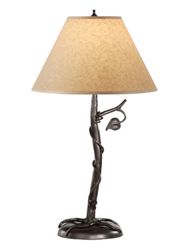 black wrought iron table lamps photo - 2