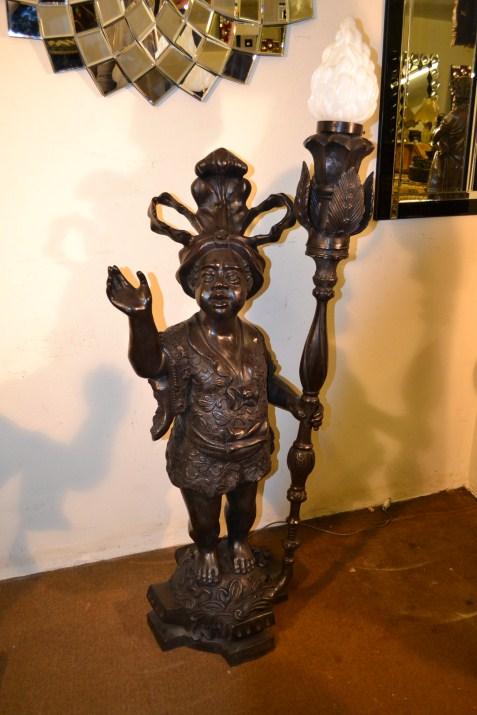 blackamoor lamps photo - 10
