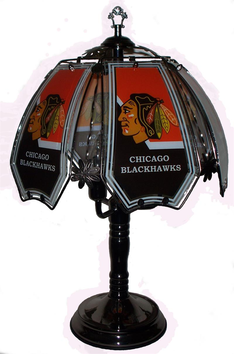 blackhawks lamp photo - 2