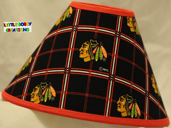 blackhawks lamp photo - 6