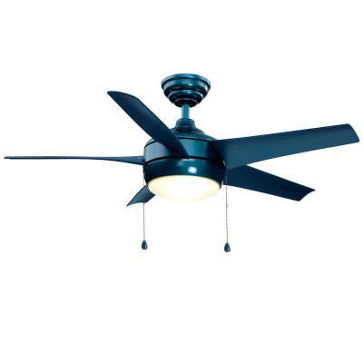 blue ceiling fans photo - 10