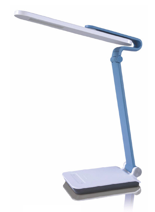 blue desk lamp photo - 6