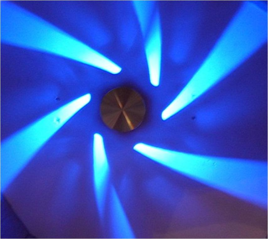 blue led ceiling lights photo - 5