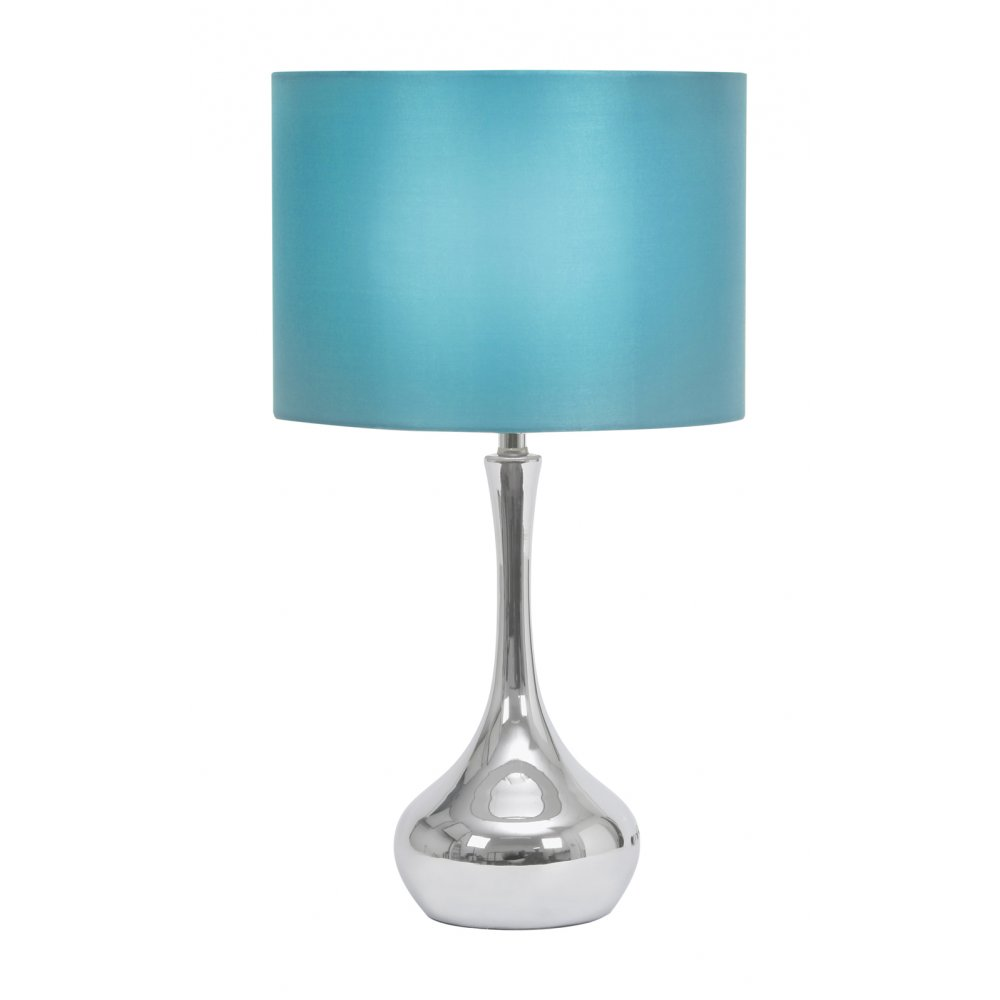 blue table lamps photo - 10