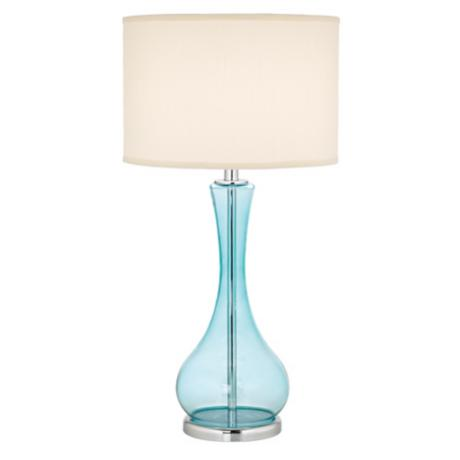 blue table lamps photo - 4